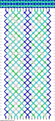 16 strings, 36 rows, 5 colors