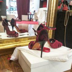 Δερμάτινα παπούτσια για Αργεντίνικο Τάνγκο με vintage διάθεση Vintage Shoes, Tango, Retro Shoes