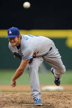 Clayton Kershaw, easily the best LEFTY in MLB. It's pretty obvious who the #1 in the game is, right or left. (Cough, cough, Verlander)
