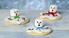 Melting Snowman Sugar Cookies | Food Recipes