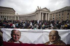 Canonising Pope John Paul II: 'We can all be saints'