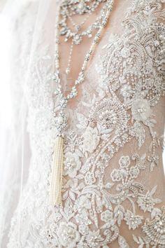 Marchesa Bridal Spring 2017 / Wedding Style Inspiration / LANE