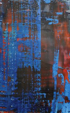 "DRAGGED TEXTURE** Koen Lybaert; Oil, 2013, Painting ""abstract N° 564"""