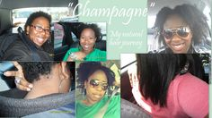 """Champagne""- My Natural Hair journey"