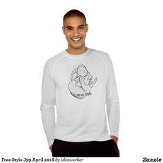 Free Style J99 Men's Sport-Tek Fitted Performance Long Sleeve T-Shirt   #design #fashion #freestyle #men #longsleeve #tshirt