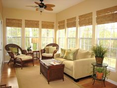 Get custom window treatments on a budget by turning mini blinds into pretty Roman shades.
