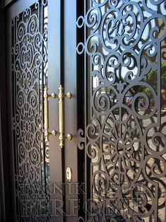 Wrought Iron Courtyard Gates Decorative Iron Works