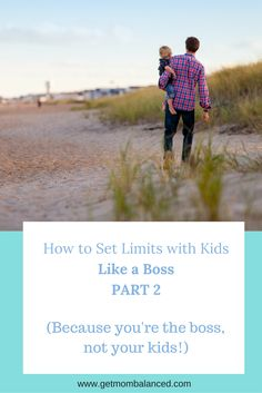 Part 2 of how to set limits of your kids. Parents need to create and maintain boundaries. Your kids will thank you. Read now or pin for later.