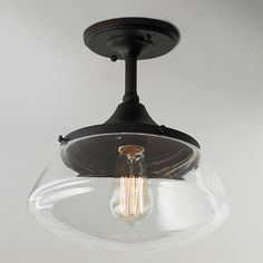 Modern Diner Ceiling Light. $89 to replace the boob lights around the house.