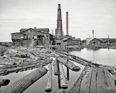Dead River: 1905   Shorpy   Old Photos