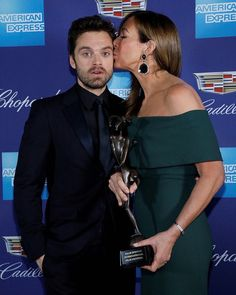 Sebastian Stan | That look is adorable!