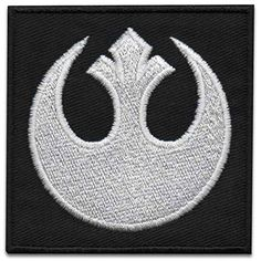 Lot de 100 pcs Star wars logo patch brodé Iron On badge
