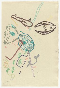John Cage. 30 Drawings by Thoreau from Merce Cunningham. 1974