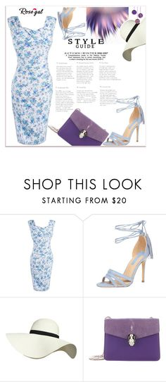 """""""Rosegal 35"""" by nerma10 ❤ liked on Polyvore featuring Dorothy Perkins, Pilot, Bulgari and vintage"""