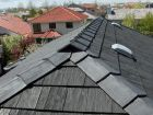Recycled Rubber Roofing Euroshield in Barrie, Ontario Roof Shingle Repair, Roof Repair, Roofing Companies, Roofing Systems, Roofing Products, Rubber Roofing, Reuse Old Tires, Roof Structure, Roof Tiles