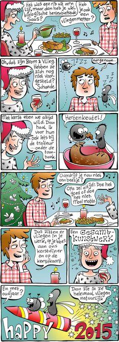 Fijne feestdagen met Brom & Vlieg