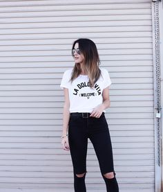 This ultra soft tee via @southparade La Dolce Vita