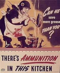 Can he save more grease than you?  US  c. 1942-1945