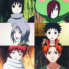 itachi, obito, and sasori image Naruto Gaara, Kakashi Hatake, Obito Kid, Naruto Anime, Naruto Cute, Naruto Funny, Shikamaru, Naruto Shippuden, Akatsuki