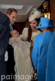 Prince George's Christening 23rd October 2013