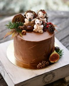 Savory magic cake with roasted peppers and tandoori - Clean Eating Snacks Cupcakes, Cupcake Cakes, Nutella Chocolate Cake, Hedgehog Cake, Rustic Wedding Cake Toppers, Funny Cake, Animal Cakes, Bakery Cakes, Specialty Cakes