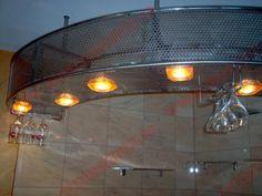 Bar Inox cu leduri si suport pahare cu picior | 0720.484.274. Mai multe modele pe InoxConstanta.ro Mai, Track Lighting, Ceiling Lights, Home Decor, Decoration Home, Room Decor, Outdoor Ceiling Lights, Home Interior Design, Ceiling Fixtures