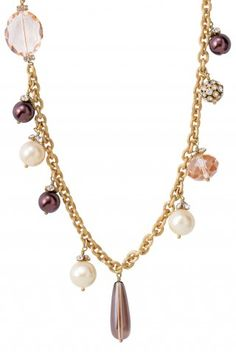 Lovely-Audrey Cluster Necklace from Stella and Dot Jewelry.