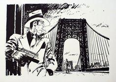 woolamaloo:  Abuli & Bernet's hardboiiled Noir comics,...