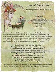 Magical Empowerment  Book of Shadows spell pages by steelgoddess, $14.95
