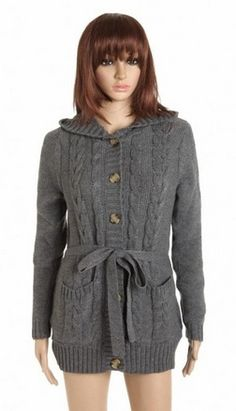 awesome Women&39s Hooded Zipper Long Trench Tunic Coat Jacket - For
