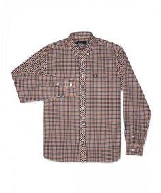Rambling Check Men's Long Sleeve Shirt   $116.00