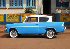 Ford Anglia classic car in Uganda