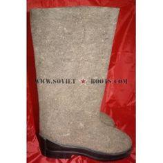 Soviet Soldier Valenki Winter Shoes Boots
