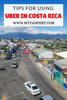 Uber in Costa Rica travel tips