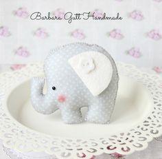 Barbara Handmade...: Zwierzątka w szarościach i bieli