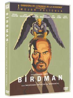 BIRDMAN. Dirigida per Alejandro G. Iñárritu.Speak up Movies, 2015.