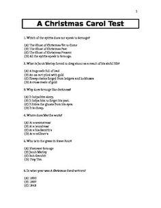 Figurative Language in A Christmas Carol Worksheets | Figurative ...