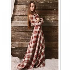 Fall 2017 Fashion Plus Size Long Sleeve Dress High Waist Vintage A-Line Maxi Long Cotton Party Women Dress Autumn Fashion 2018, Fashion 2017, Plus Fashion, Plus Size Dresses, Plus Size Outfits, Plus Size Clothing Stores, Plus Size Women, High Waist, Dresses With Sleeves