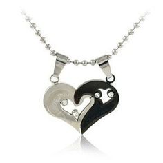 Valentine Couple's Necklace Sets