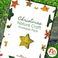 Christmas Nature Craft Printables: Enjoy Eco-Friendly festive crafts this season - Mother Natured Christmas Tag Templates, Card Templates, Kids Christmas, Christmas Cards, Australia For Kids, Printable Shapes, Festive Crafts, Nature Crafts, Kids Cards