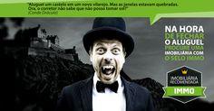 Campanha selo immo  #imoveis #vampiro #dracula #condedracula #aluguel