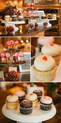 """Peppermint & Pine Cones"" Themed Winter Baby Shower"