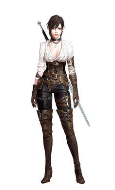 Fantasy Girl, Fantasy Female Warrior, Chica Fantasy, Female Knight, Fantasy Women, Woman Warrior, Dnd Characters, Fantasy Characters, Female Characters