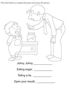 Download english activity worksheet Complete the poem from