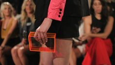 Image result for lucite clutch