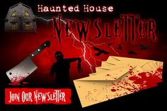 Sign up for our newsletter and receive all the hottest in Halloween news right to your email each and every Thursday of the haunt season! Happy Haunting!