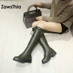 Cheap calf boots, Buy Quality knight boots directly from China mid calf boots Suppliers: ZawsThia PU faux leather sexy lace up woman boot riding equestrian mid calf boots winter warm plush knee high women knight boots Mid Calf Boots, Knee High Boots, Female Knight, Fashion Labels, Shoe Boots, Shoes, Winter Boots, Block Heels, Sexy