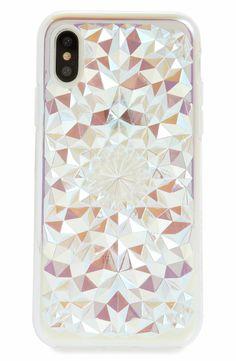 a1deb8fca6193f Main Image - Felony Case Clear Cosmic Kaleidoscope iPhone X Case  #iPhone7Plus #iPhoneXS