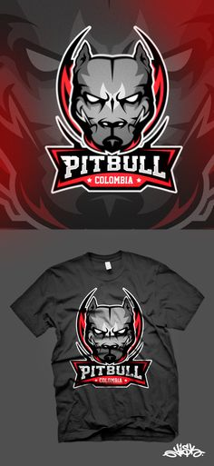 SPORT LOGO PITBULL COLOMBIA on Behance