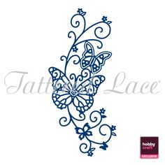 Butterfly Vine (D518) – Tattered Lace